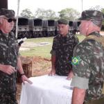 Visita do Comandante do DEC ao 54°Batalhão de Infantaria de Selva
