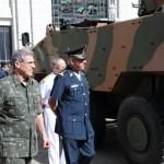 Comando Militar do Leste recebe visita de Comitiva de Oficiais do México
