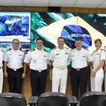 Visita do Comandante da 4ª Esquadra da Marinha dos Estados Unidos ao COMCONTRAM