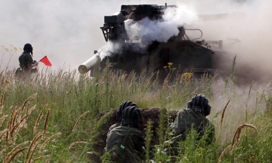 Competições de baterias de artilharia Foto: RIA Novosti/Vitali Ankov