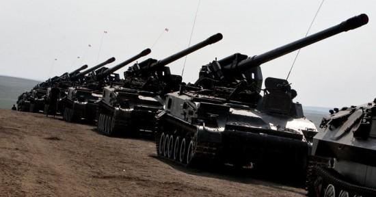 Competições de baterias de artilharia.3