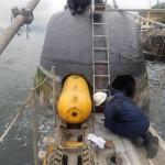 """Submarino """"Tapajó"""" se prepara para exercício de minagem e recebe visita do ComemCh"""