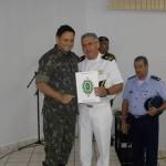 Agente Fluvial de Cáceres recebe Diploma de Amigo da 13ª Brigada de Infantaria Motorizada