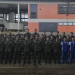 Visita de cadetes do Curso de Comunicações da AMAN