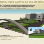 Brasília ganhará campus da Escola Superior de Guerra