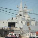 Fragata Sul-Africana é primeira embarcação a chegar ao Brasil para a Operação Atlansur-X