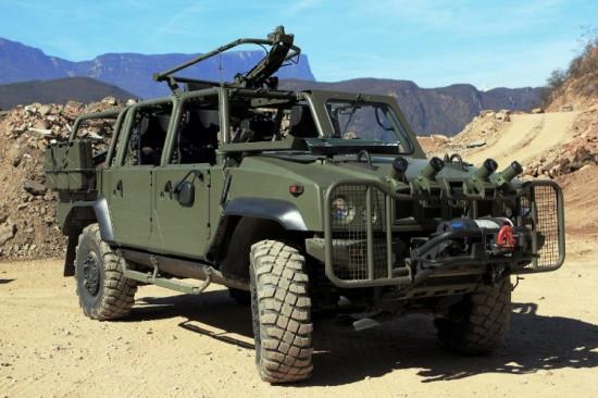 Light Multirole Military Vehicle-Davanti SX Montagne-l