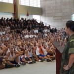 N-SAIPM/CIAMPA promove palestra para alunos do Curso de Formação de Soldados Fuzileiros Navais