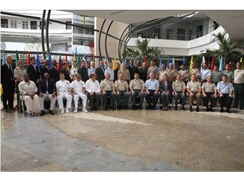 Militares participantes do VI FISH