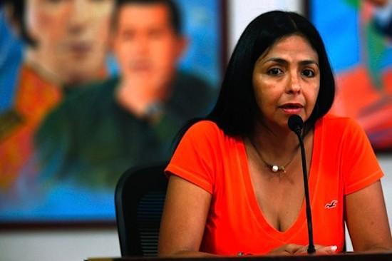 Ministra da comunicação venezuelana