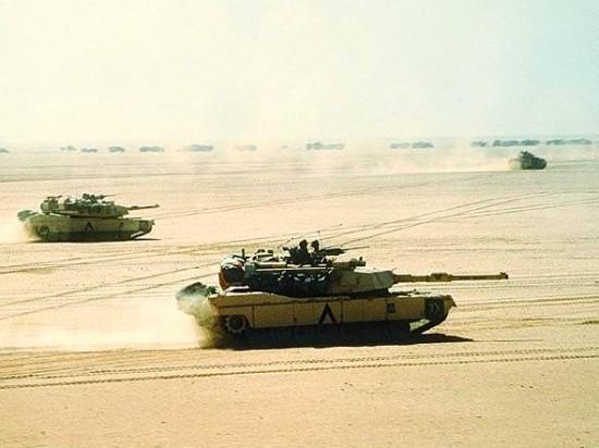 Os americanos já enviaram centenas de tanques M1 Abrams ao Iraque. Segundo relatos, o EIIL teria capturado alguns deles.