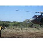 4º Esquadrão de Helicópteros de Emprego Geral apoia Curso de Operações no Pantanal