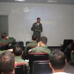 Esquadrilha da Fumaça realiza missão de treinamento na Base Aérea de Campo Grande