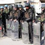 Fuzileiros no Haiti contém hostilidades entre populações das comunidades de Pélé e Simon
