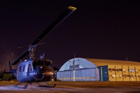 helicóptero H-1H da Força Aérea Brasileira