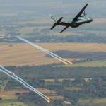 Exercício Transportex 2014 – aeronaves treinam manobras evasivas e uso de sistemas de autodefesa