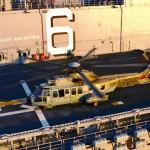 Aeronaves do ComForAerNav realizam pouso a bordo do LHA-6 USS América