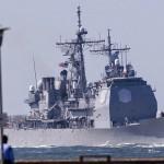 Cruzador USS Vella Gulf (CG 72) irá entrar no Mar Negro