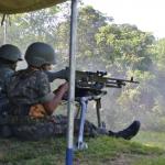 1º Grupo de Artilharia de Campanha de Selva em Operação