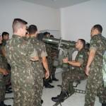 Visita de instrução do curso de Artilharia da AMAN à EsACosAAe