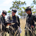10° Grupo de Artilharia de Campanha de Selva realizando Campo de Qualificação