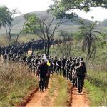 Marcha de 12 Km da 9ª Brigada de Infantaria Motorizada