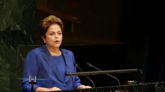 A líder brasileira marcou presença na cimeira da ONU, em Nova Iorque, e defendeu outra forma de intervenção para travar as ações do Estado Islâmico