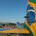 Esquadrilha da Fumaça expõe sua aeronave em eventos aéreos