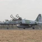 Exercício de guerra aérea simulada inicia sua segunda fase