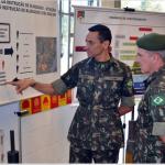 Centro de Instrução de Blindados recebe a visita do 1º Subchefe do Comando de Operações Terrestres (COTER)