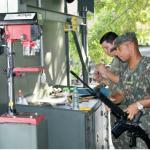 Companhia de Comando da 1ª Divisão de Exército realiza Manutenção de Fuzis