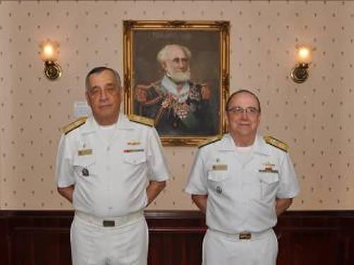 Comandante da Marinha e Comandante de Operações Navais