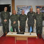 Comandante de Operações Navais visita o Grupamento de Fuzileiros Navais do Haiti