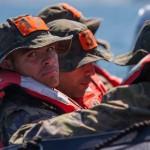 Alunos concluem fase marítima do Curso de Busca e Salvamento (SAR) 2014