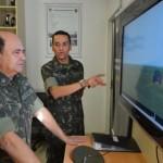 Visita do Comandante da 5ª Divisão de Exército ao Centro de Instrução de Blindados