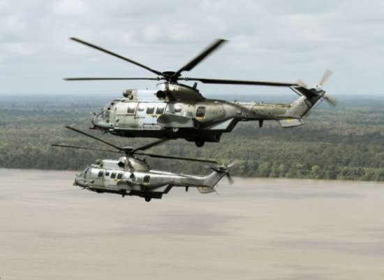 EC-725 – Quatorze dos helicópteros já foram entregues às Forças Armadas pela fábrica de Itajubá