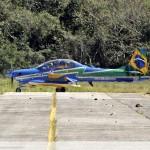 FOTOS – Esquadrilha da Fumaça em sua passagem na Base Aérea dos Afonsos