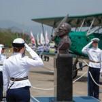 Patrono da Aeronáutica é homenageado em cerimônia militar no Rio de Janeiro