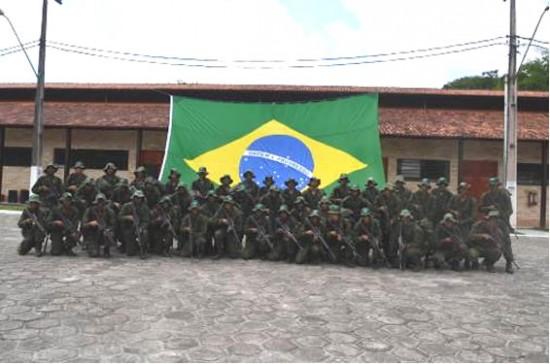 Formandos do Segundo Estágio de Operações, na Amazônia Oriental