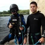 Mergulhadores do Comando do 6° Distrito Naval contribuem com inspeção em Porto Morrinho (MS)