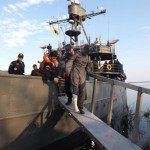 Comando do 6° Distrito Naval realiza evacuação médica de militar da Armada Boliviana