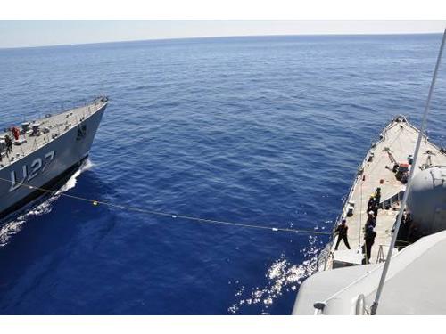 Navios da Marinha do Brasil em exercício