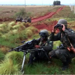 2º Regimento de Cavalaria Mecanizado realiza Tiro de armas coletivas durante a Operação XIRÚ