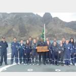 """Navio-Patrulha Oceânico """"APA"""" apoia pesquisa científica na Ilha da Trindade"""