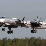 Bombardeiros Tu 95 Bear realizam lançamento de mísseis contra os EUA em exercício simulado