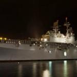USS América chega a Valparaíso para visita e manobras com a Marinha Chilena