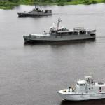 """Marinha do Brasil realiza Operação """"BRASBOL 2014"""" com a Armada Boliviana"""