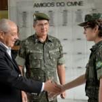 Secretário-geral do Ministério da Defesa apresenta estrutura da Defesa a organizações militares do NE