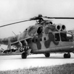 45 anos do helicóptero de combate Mil Mi-24