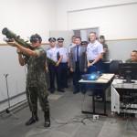 Visita da Comissão Coordenadora do Programa Aeronave de Combate da FAB